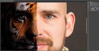 Επεξεργασία εικόνας με το Photoshop.