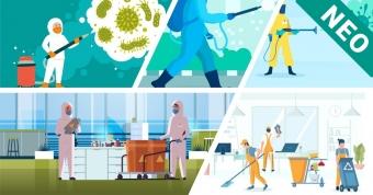 Πιστοποιημένη εκπαίδευση στις διαδικασίες καθαρισμού, απολύμανσης και αποστείρωσης επιφανειών, χώρων και αντικειμένων σύμφωνα και με τα υγειονομικά πρωτόκολλα για SARS-CoV-2. Νέο τμήμα 14/07/2020.