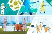 Πιστοποιημένη εκπαίδευση στις διαδικασίες καθαρισμού και απολύμανσης επιφανειών, χώρων και αντικειμένων σύμφωνα και με τα υγειονομικά πρωτόκολλα για SARS-CoV-2. Έναρξη 18/05/2021